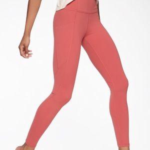 Coral athlete leggings